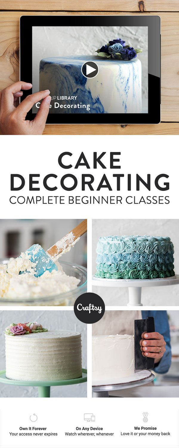 25+ best ideas about Beginner cake decorating on Pinterest