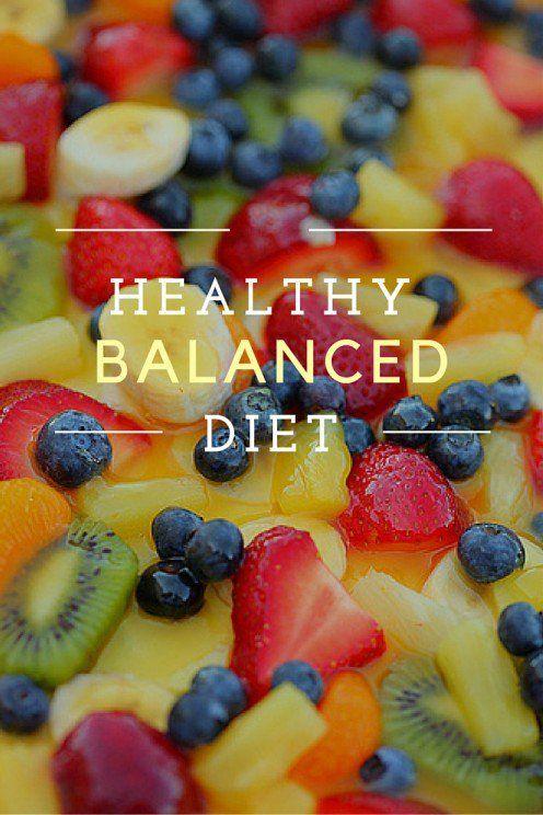 Healthy Balanced Diet Plan