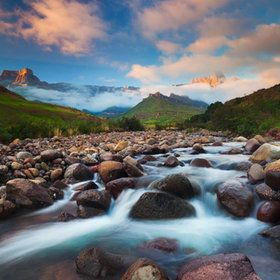 "500px / Photo ""Drakensberg Sunrise"" by Hougaard Malan"