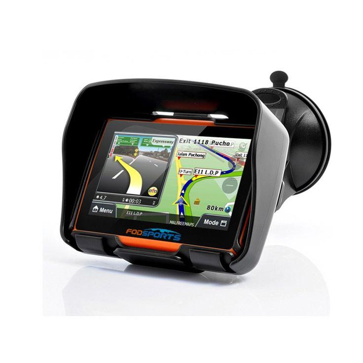 Waterproof Car Motorcycle GPS Navigator //Price: $70 & FREE Shipping //     Sale Depot http://saledepot.biz/product/fodsports-brand2016-updated-256m-ram-8gb-flash-4-3-inch-moto-gps-navigator-waterproof-motorcycle-gps-navigation-free-maps/    #saledepot