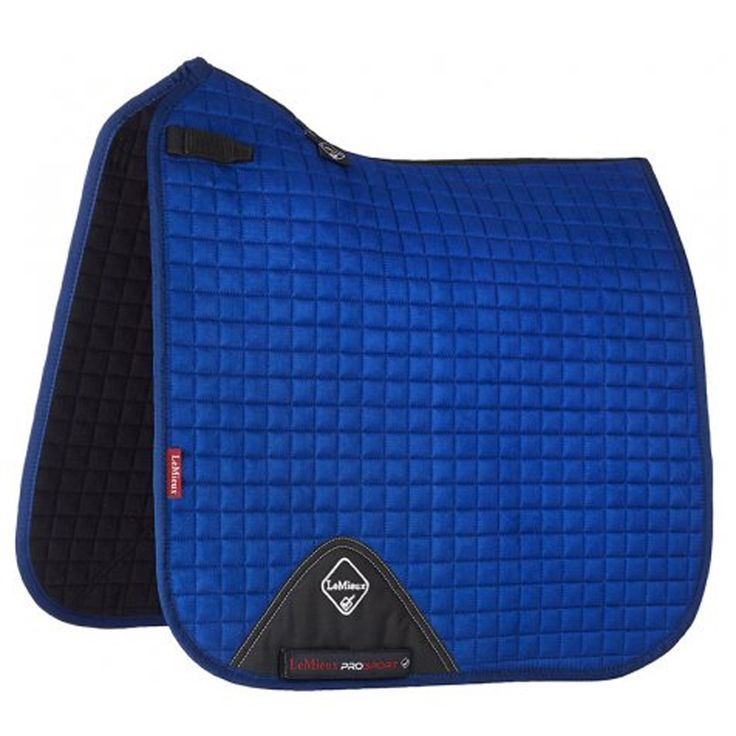 LeMieux benetton blue dressage square