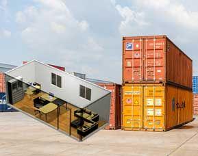 Vanzari containere maritime si birou, Estpoint ofera pe piata din Romania servicii complete pentru vanzari si transport containere orice tip.