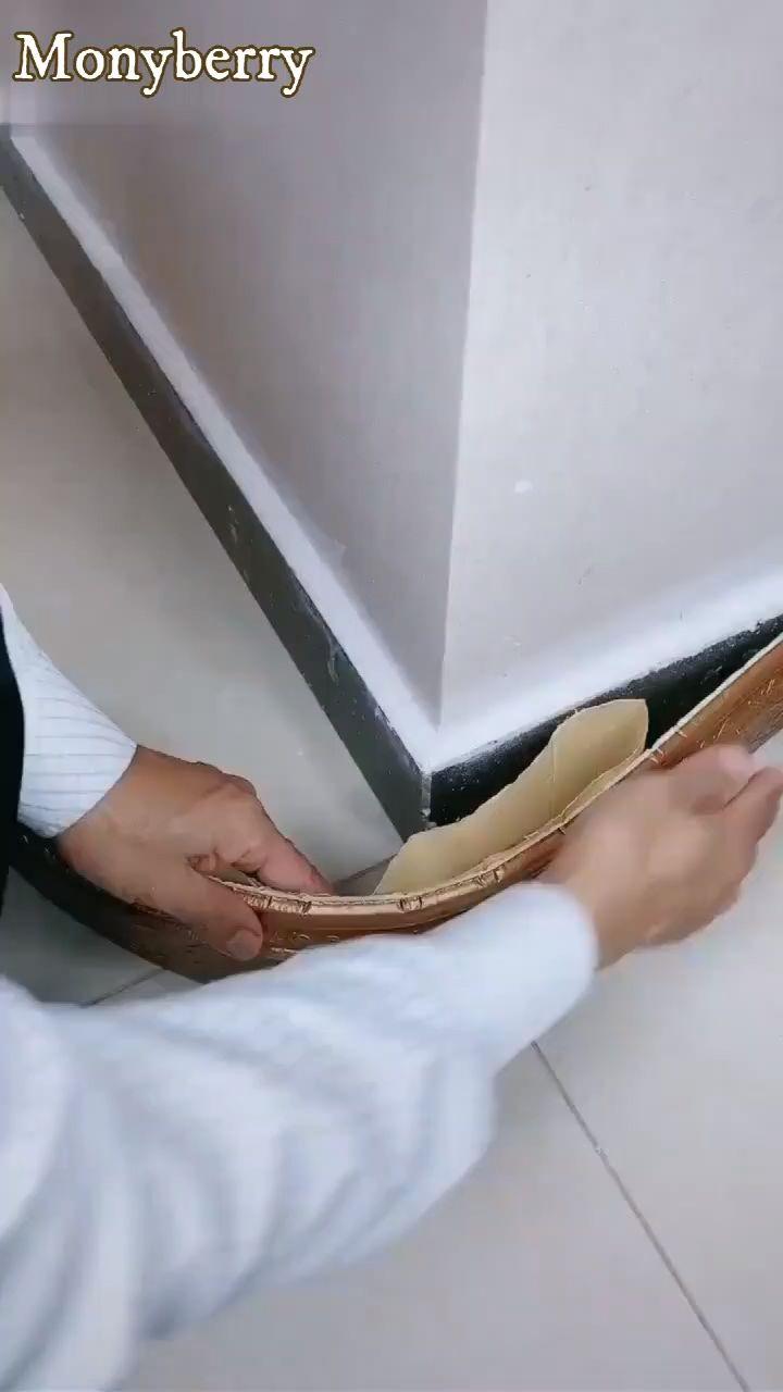 Self-Adhesive 3D Wall Edging Strip (8 colors)
