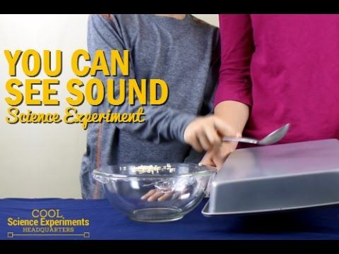 How to See Sound science