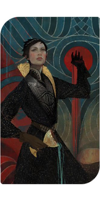 Dragon Age Inquisition - Cassandra romance tarot card