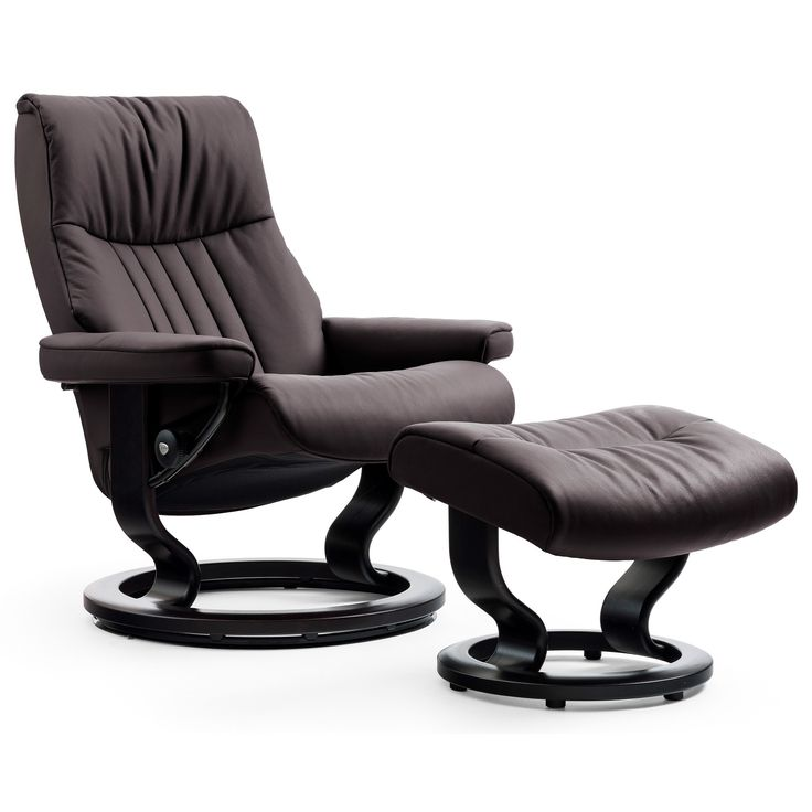 stressless crown large classic chair by stressless by ekornes