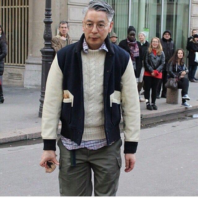 """Takahiro Kinoshita, editor in chief of Japanese menswear magazine, """"Popeye"""""""