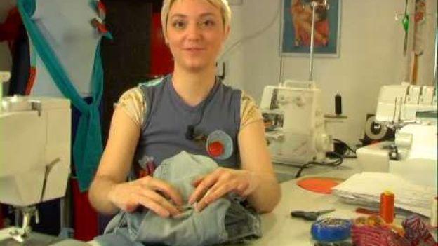 Toppa interna. Impara a rattoppare i jeans
