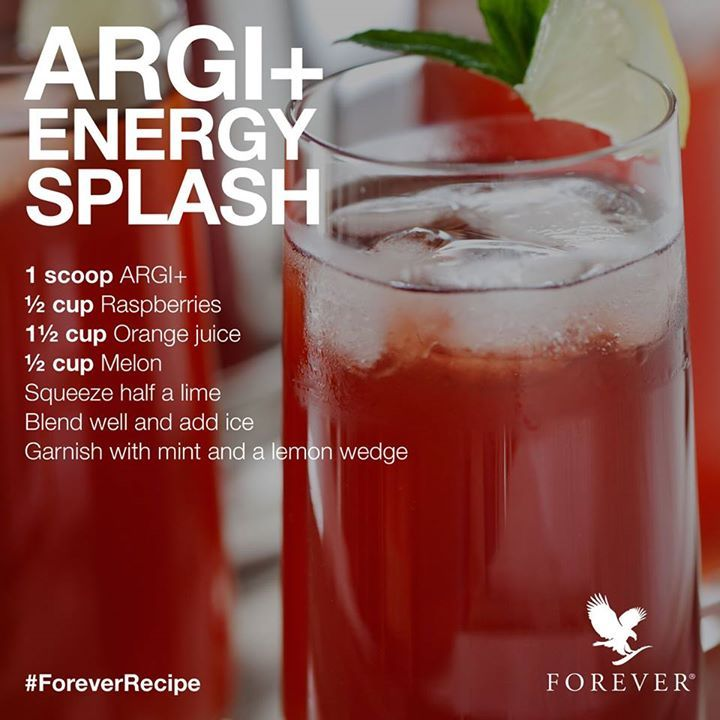 Great Energy booster recipe for you to enjoy our Argi+!! For our full range of sports and fitness products please click on the link - Fiona. #sport #fitness #argi #energydrink #energy #fitness
