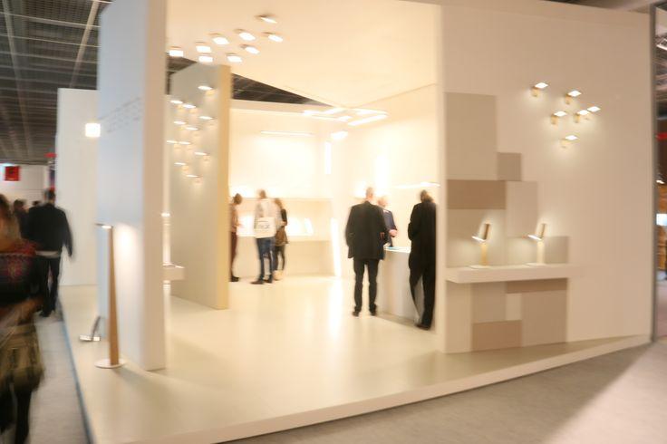 Tunto booth in Light&Building, Frankfurt