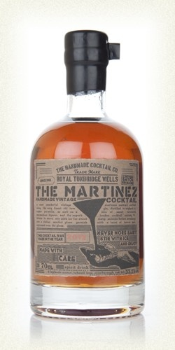 The Martinez Cocktail 2012 | Pre-mixed cocktail from Master of Malt