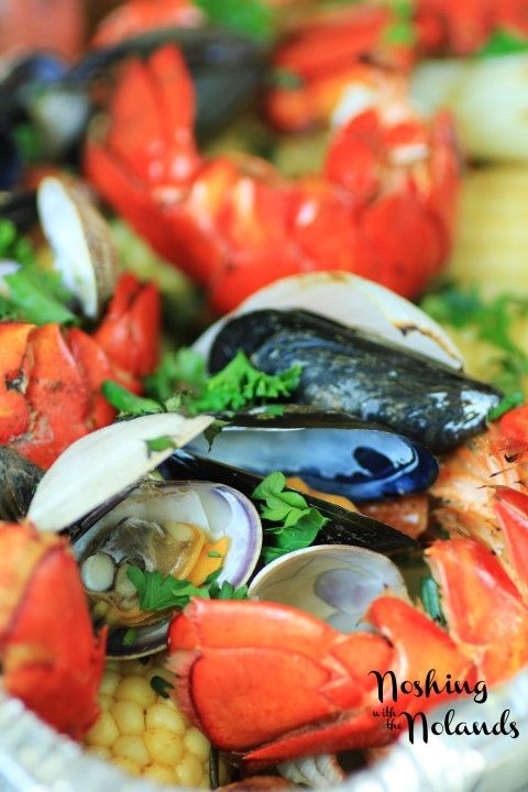 Backyard ClamBake on Your Grill by Noshing With The Nolands
