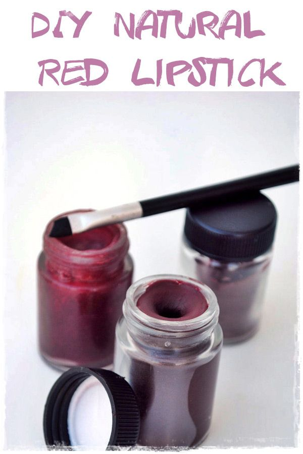 Diy Natural Red Lipstick Do It Yourself Today Makeup Beauty And