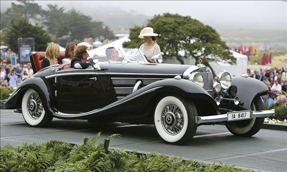 1936 mercedes benz 540k special roadster mercedes benz 39 s top of the line 1930s autobahn cruiser. Black Bedroom Furniture Sets. Home Design Ideas