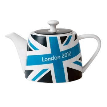 London 2012 Union Jack Brights Tea Pot from the London Transport Museum Shop