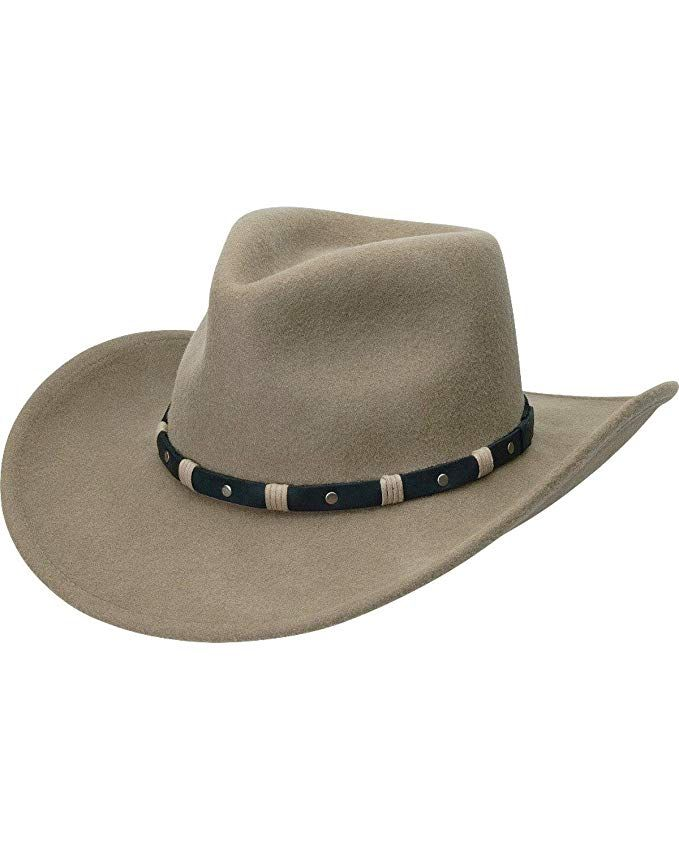 Black Creek Men s Putty Crushable Wool Hat - Bc2037 Review  dcae37cfe5b9