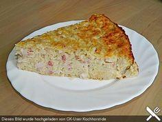 Zwiebelkuchen ohne Boden - einfach und lecker (Rezept mit Bild)   Chefkoch.de