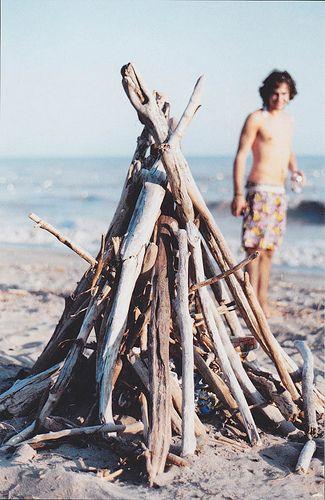 teepee bonfire