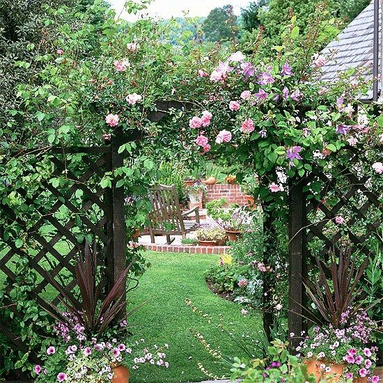 67 best Garden Arches images on Pinterest Garden entrance