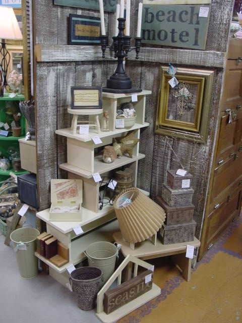 antique mall booth display ideas - Google Search