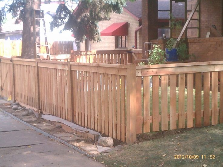 4 foot front yard fence diy landscape ideas pinterest for Small front yard ideas with fence