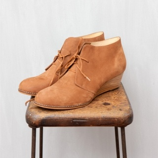 Strova Wedge Boot - our favourite winter shoe! Made from leather upper, inner and outer (including the wedge heel) these are so comfortable to wear!