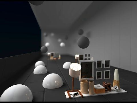 3dmax Vray z-depth, render blur background - YouTube