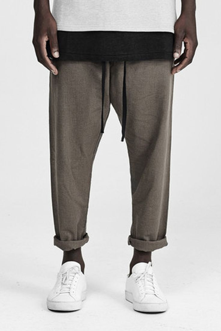 commoners - Relaxed Linen Pant  | Dust