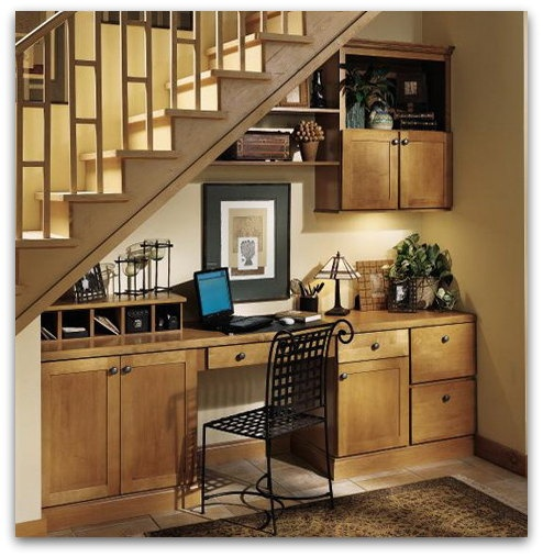 60 Unbelievable Under Stairs Storage Space Solutions: 47 Best Office Niche Images On Pinterest