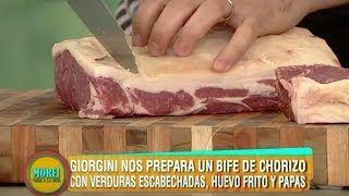 Receta: Bife de chorizo relleno - Especial La Peña de Morfi