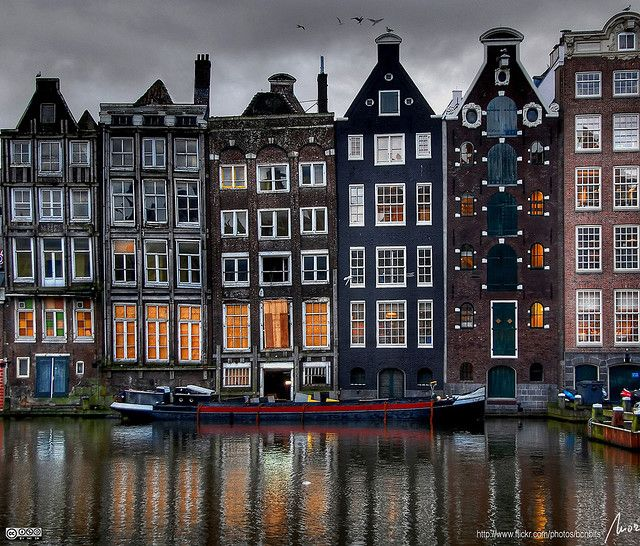Danrak, Amsterdam.  I love the differently sized windows and how un-this-worldly it all feels.