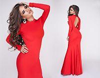 Вечернее платье Madlen красное