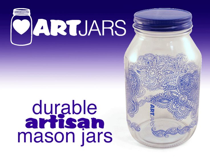 ARTjars! Gorgeous and durable artisan mason jars. project video thumbnail