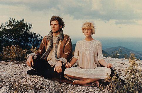 "Klaus Grünburg and Mimsy Farmer, 1969, ""More"""