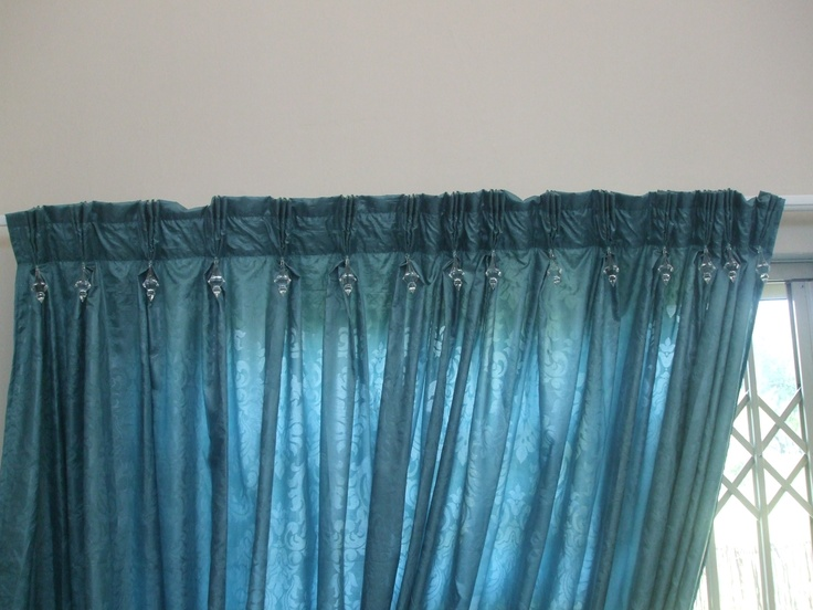 Curtains with crystals