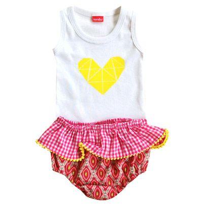 Monstar Baby Set - www.littlevintagehearts.com.au