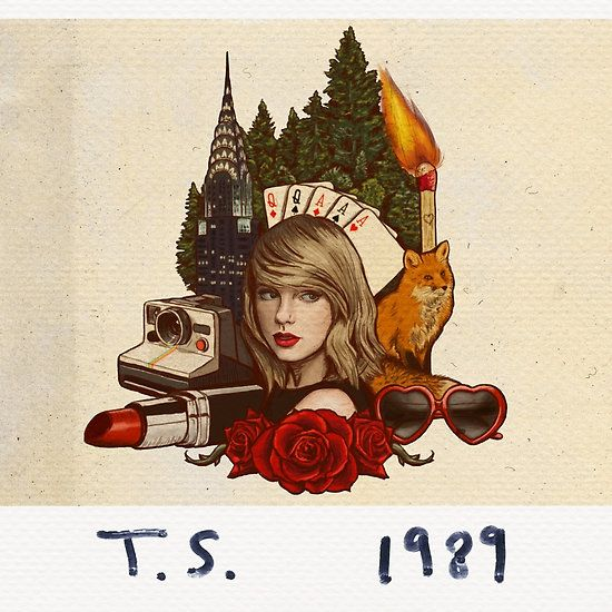 Vintage Taylor Swift design 1989 (Polaroid Version) #shirt #phonecase #poster