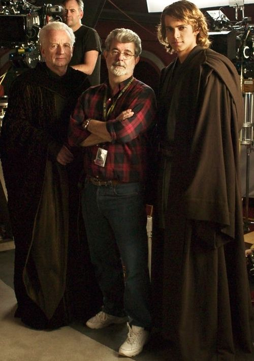 Sith lords with George Lucas.