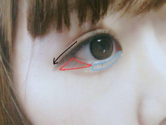 オルチャンメイクで韓国人に変身❤ |RIRIKA さんのメイク方法 ... オルチャンのアイメイクを紹介します(^^) アイラインはタレ目気味に1センチ目からはみ出す感じでしっかり書いてください。 赤の部分には濃いブラウンのアイシャドウを ...