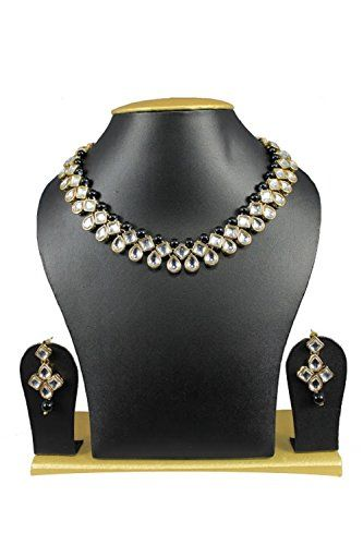 Ddivaa Indian Bollywood Gold Plated Black Pearls Kundan S... https://www.amazon.com/dp/B073W561TK/ref=cm_sw_r_pi_dp_x_NRY5zbKVP7CD6