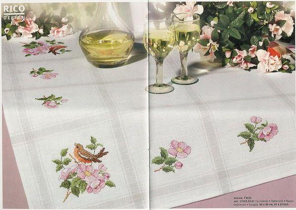 Cross Stitch World: Flowers (Rico Design)