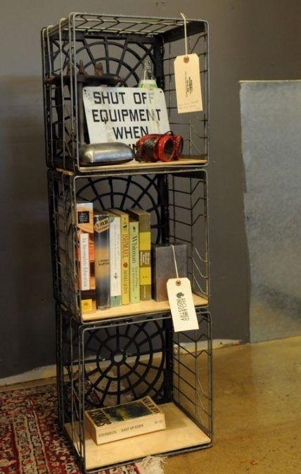 Metal Milk Crate Ideas Shelves 24 Ideas Crate Crate Shelves Diy