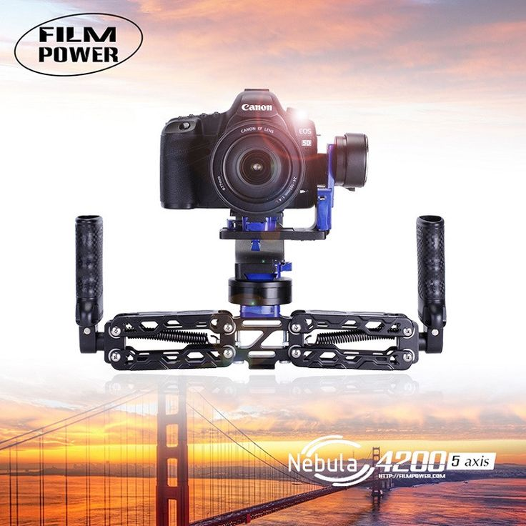 Nebula 5-Axis Handheld Gyroscope Stabilizer Brushless 32bit Gimbal with  Free Battery for DSLR Canon