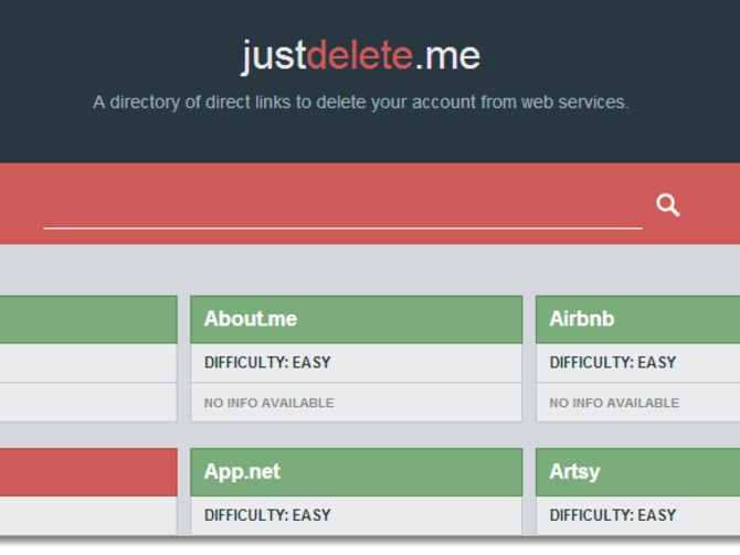 How to delete your Web accounts with JustDelete.me - CNET