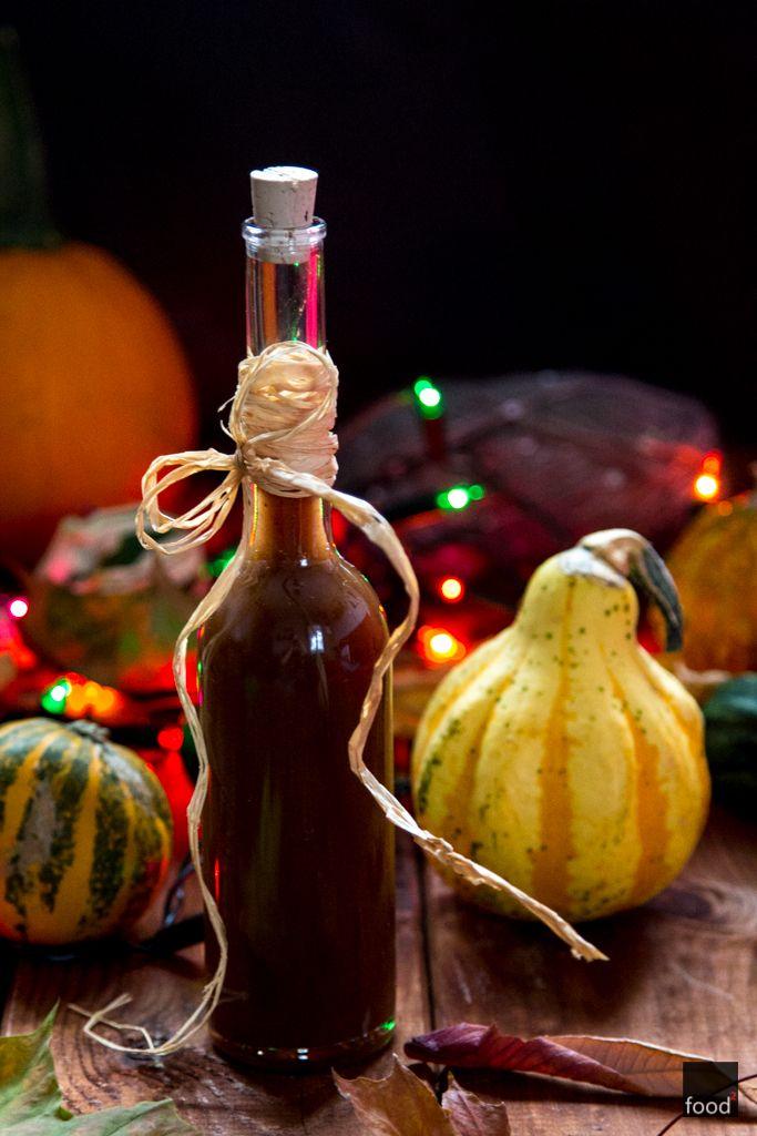 food²: Korzenny syrop dyniowy do Pumpkin Spice Latte