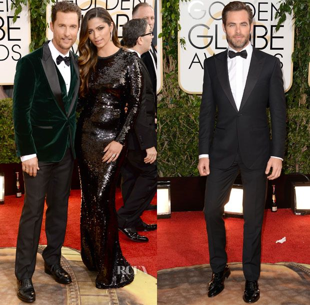 2014 Golden Globe Awards Menswear Roundup