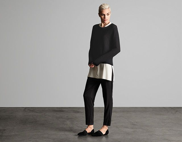 Shop Pants for Women at EILEEN FISHER | EILEEN FISHER