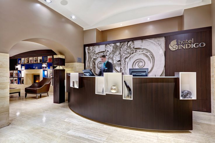 reception desk hotel design