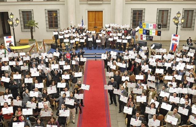 21-08-2012 Premiación programa Capital Semilla by Gobierno de Chile, via Flickr