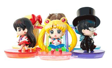 Sailor Moon Petit Chara Figures http://www.moonkitty.net/buy-sailor-moon-petit-figures.php